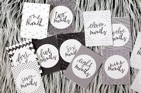 black and white pictures for babies printable baby milestone cards free download with bitta kidda see kate sew