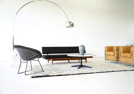 diamond wire chairs by harry bertoia for knoll international 1950s set of 3