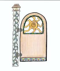Small Picture Interesting Garden Gate Plans Framed Ledge Brace Throughout Design