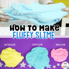 fluffy slime recipe learn how to make