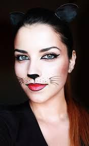 simple cat face makeup ideas