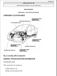 honda civic abs wiring diagram honda image wiring 2006 2009 honda civic service manual on honda civic abs wiring diagram
