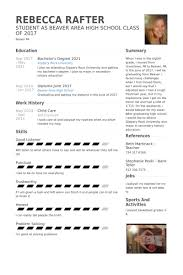 Child Care Resume samples - VisualCV resume samples database