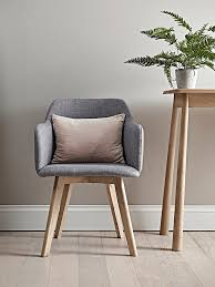 scandi occasional chair.  Scandi Upholstered In Grey Cotton Our Elegant Petite Armchair Has Scandi Style  Beech Legs And A With Occasional Chair E