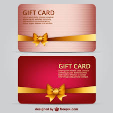 gift card template gift card template free vector 123freevectors