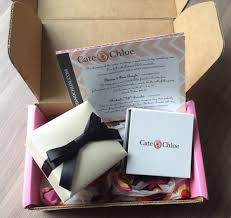 cate chloe jewelry subscription box review september 2016 items