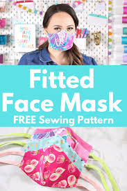 how to sew a ed cotton face mask
