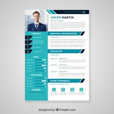 Professional Templates Flat Professional Curriculum Template Vector Free Download