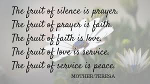 The-fruit-of-silence-is-prayer-Mother-Teresa - Covenant House New Orleans
