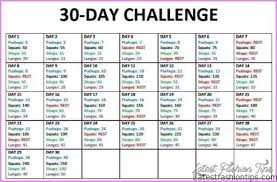 Gym Workout Chart 30 Day Weight Loss Exercise Plan Lamasa Jasonkellyphoto Co