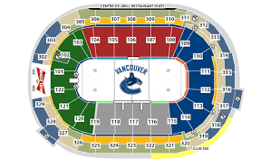 Canucks Virtual Seating Chart Vancouver Canucks Seating Chart Map Vancouver Canucks