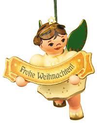 Christbaumschmuck Engel Frohe Weihnacht 6 Cm