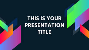 Powerpoint Theme Templates Free Free Modern And Colorful Powerpoint Template Or Google