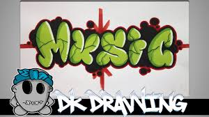 colored bubble letters graffiti tutorial for beginners how to color bubble letters music