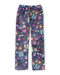 Hello Mello Lounge Pants Size Chart Girls 7 16 Print Pajama Pants C21