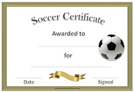 soccer awards templates soccer award certificate template customize online
