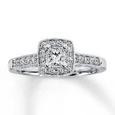 Princess Cut Diamond Chart Elegant Princess Cut Diamond Wedding Ring Engagement 1 2 Ct