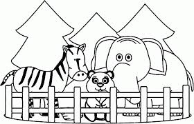 Small Picture Zoo Coloring Pages Kindergarten Coloring Coloring Pages