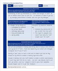 individual development plan examples 35 development plan sample free premium templates