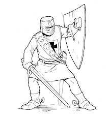 Best Roman Soldier Coloring Pages Of Knight Printable For Childrens