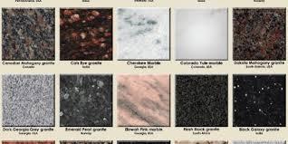 most popular granite countertop colors
