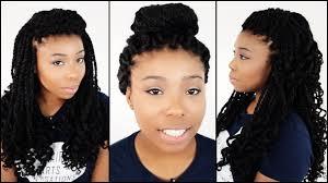 Kinky Twist Hairstyles 3 Hairstyles For Mrs Rutters Perimeter Crochet Kinky Twists