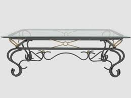 fascinating black wrought iron coffee table with glass top 43 in home decor ideas with black