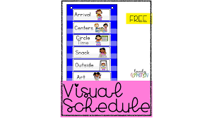 Printable visual daily routine preschool : The Benefits Of A Visual Schedule