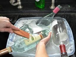 wine bottle into pendant light fixtures