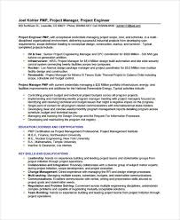 40 Engineer Resume Samples PDF DOC Free Premium Templates Inspiration Project Engineer Resume