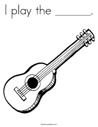 Small Picture Music Coloring Pages Twisty Noodle