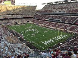 Kyle Field Section 327 Row 11 Seat 1 A View From My Seat