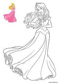 Coloriage Princesse Disney Aurore Dessin Coloriage De Princesses DisneyL