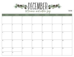 December Calendar Excel Free Template 2018 December Calendar Pdf Excel Word Download