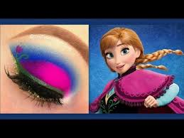 disney s frozen princess anna makeup tutorial