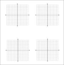 Graphing Template Math Graph Paper For High School Math Throughout