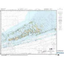 Maptech Noaa Recreational Waterproof Chart Florida Keys Sombrero Key To Sand Key 11442