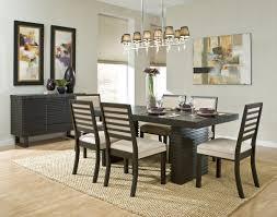 Plain Rug On Carpet Dining Room Largesize Furniture Good Looking Light Brown Simple Ideas
