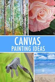 canvas painting ideas creative
