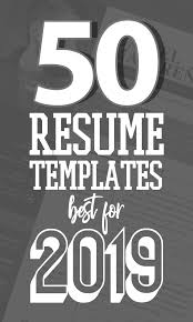 Good Cv Examples 2020 50 Free Cv Resume Templates Best For 2019 Design