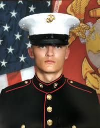 United States Marine Officer Kaden Olsen Graduates United States Marine Corps Boot Camp