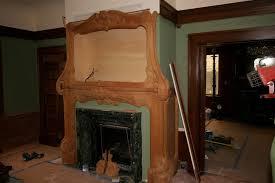 gany empire style fireplace