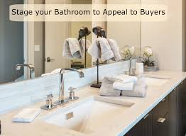 Bathroom Staging Staging Tips To Boost Your Bathrooms Selling Power Pittsburgh