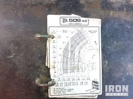 Jcb 509 42 Load Chart 2010 Jcb 509 42 Telehandler In Virginia Beach Virginia
