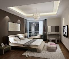 Painting A Small Bedroom Modern Bedroom Ideas With White And Dark Beige Wall Color Design