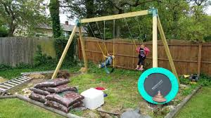 Swing Set Designs Diy Swing Set Upgrade 2017 How To Build Your Own