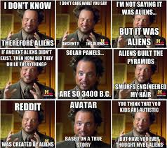 Ancient Aliens host recalls his own UFO story | Openminds.tv via Relatably.com