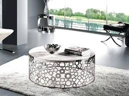 circle coffee table silver image and description set white gloss tray circle coffee table lane modern black and
