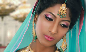 pink bridal makeup tutorial for uneven skin tones for asian south indian skin you