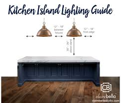 Kitchen islands lighting Vintage Kitchen Island Clairebella Studio Kitchen Island Lighting Guide Clairebella Studio